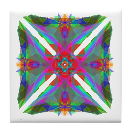 Kaleidoscope 000 Tile Coaster