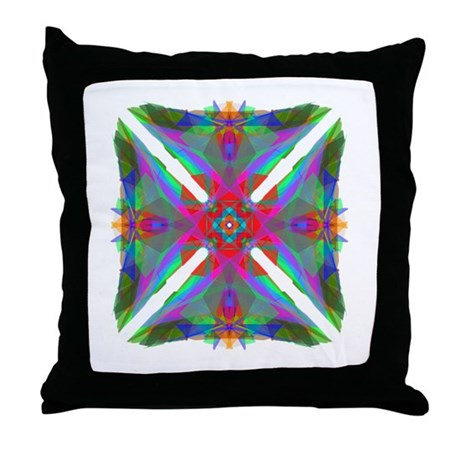 Kaleidoscope 000 Throw Pillow
