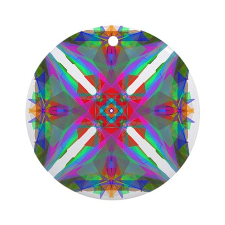 Kaleidoscope 000 Ornament (Round)