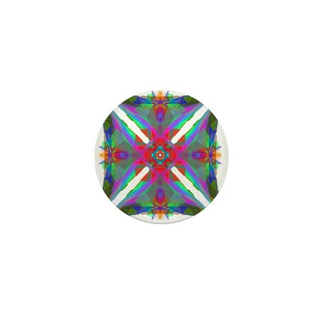 Kaleidoscope 000 Mini Button