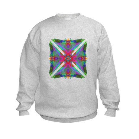 Kaleidoscope 000 Kids Sweatshirt
