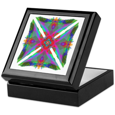 Kaleidoscope 000 Keepsake Box