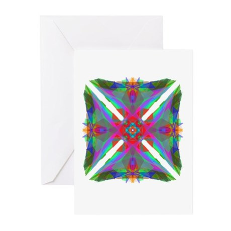 Kaleidoscope 000 Greeting Cards (Pk of 10)