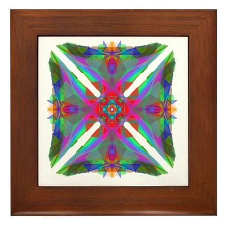 Kaleidoscope 000 Framed Tile