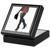Dominatrix with Hood Keepsake Box