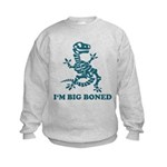 I'm Big Boned Kids Sweatshirt
