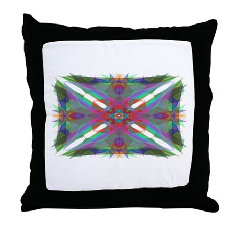 Kaliedoscope 000 Throw Pillow