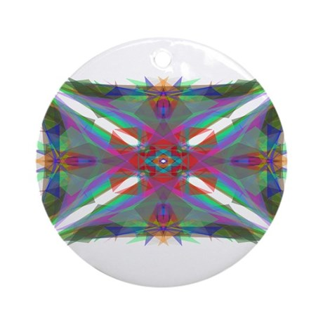 Kaliedoscope 000 Ornament (Round)