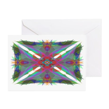 Kaliedoscope 000 Greeting Cards (Pk of 10)