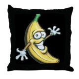 Unique Banana Throw Pillow