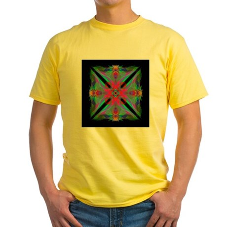 Kaleidoscope 000a2 Yellow T-Shirt