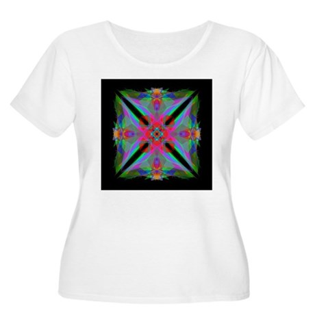 Kaleidoscope 000a2 Women's Plus Size Scoop Neck T-