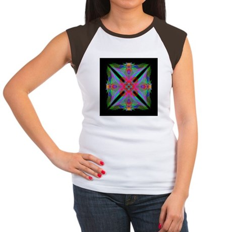 Kaleidoscope 000a2 Women's Cap Sleeve T-Shirt