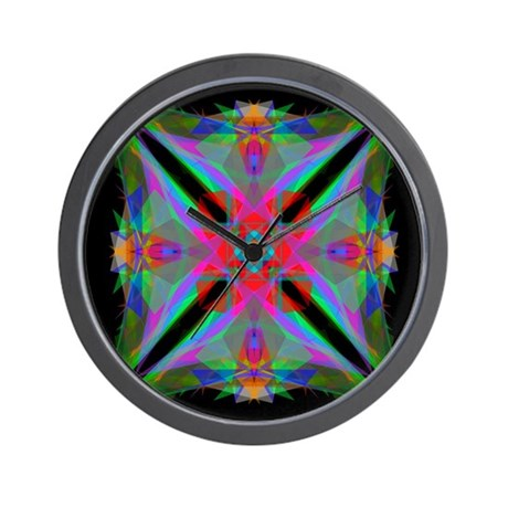 Kaleidoscope 000a2 Wall Clock