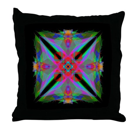 Kaleidoscope 000a2 Throw Pillow