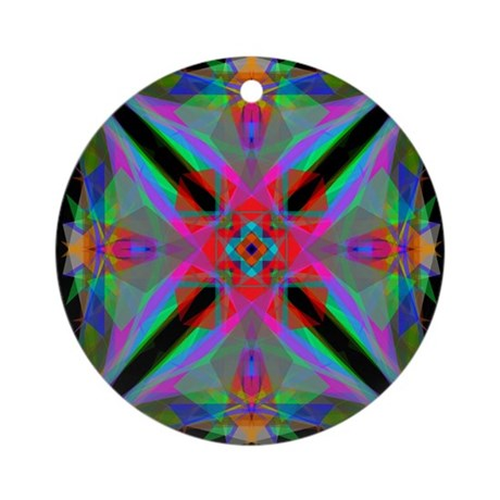 Kaleidoscope 000a2 Ornament (Round)