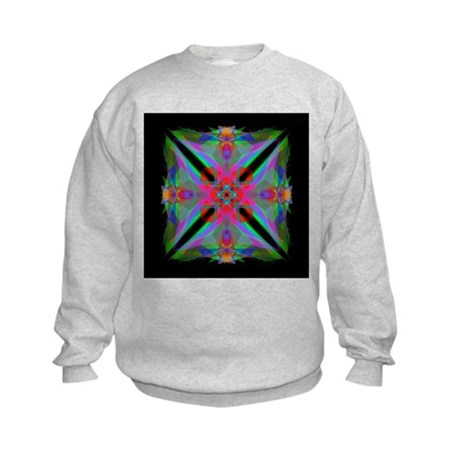 Kaleidoscope 000a2 Kids Sweatshirt