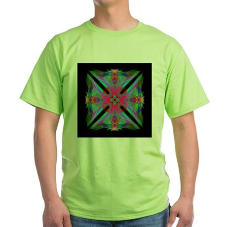 Kaleidoscope 000a2 Green T-Shirt