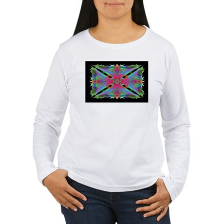 Kaleidoscope 000a Women's Long Sleeve T-Shirt