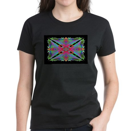 Kaleidoscope 000a Women's Dark T-Shirt