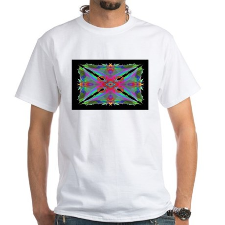 Kaleidoscope 000a White T-Shirt