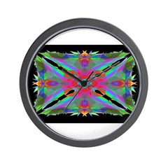 Kaleidoscope 000a Wall Clock