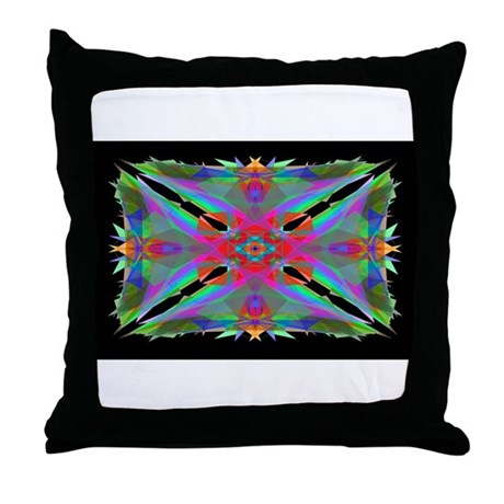 Kaleidoscope 000a Throw Pillow