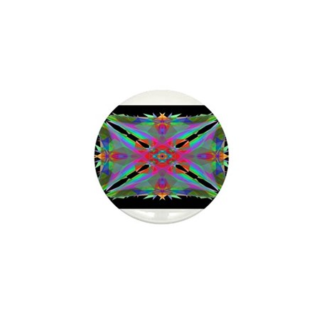 Kaleidoscope 000a Mini Button (10 pack)