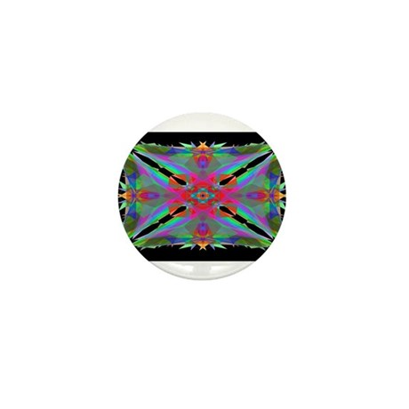 Kaleidoscope 000a Mini Button