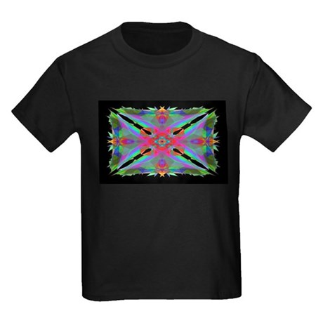 Kaleidoscope 000a Kids Dark T-Shirt