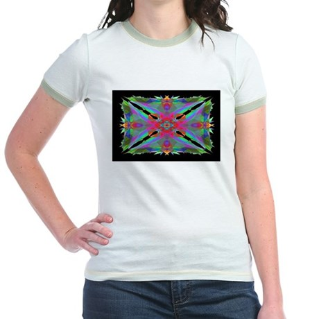 Kaleidoscope 000a Jr. Ringer T-Shirt
