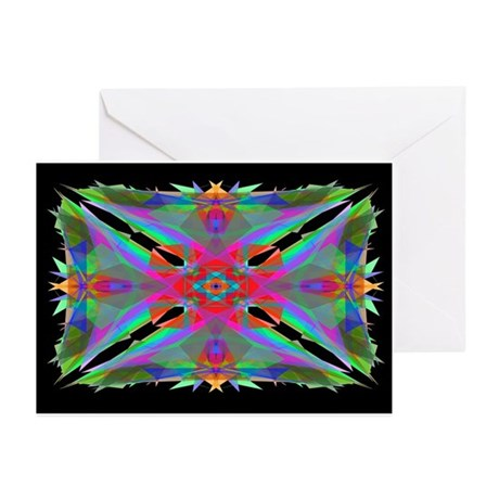 Kaleidoscope 000a Greeting Cards (Pk of 10)