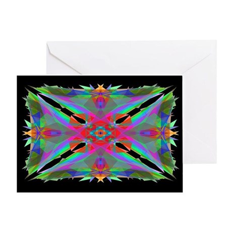 Kaleidoscope 000a Greeting Card