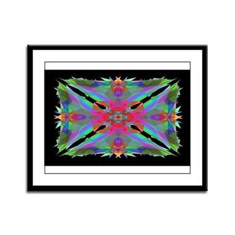 Kaleidoscope 000a Framed Panel Print