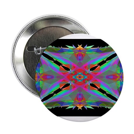 "Kaleidoscope 000a 2.25"" Button"