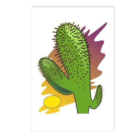 Southwestern Cactus Postcards (Package of 8)