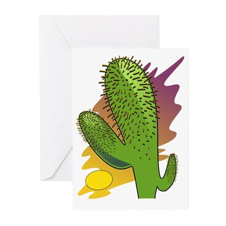 Southwestern Cactus Greeting Cards (Pk of 20)