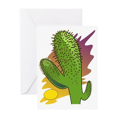 Southwestern Cactus Greeting Card