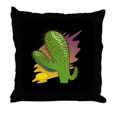 Southwestern Cactus Throw Pillow