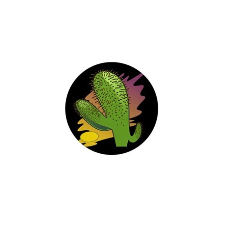 Southwestern Cactus Mini Button (10 pack)