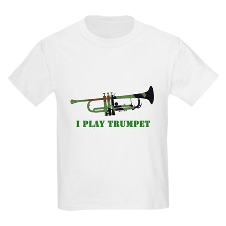 Camo Trumpet Kids Light T-Shirt