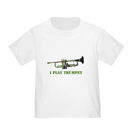Camo Trumpet Toddler T-Shirt