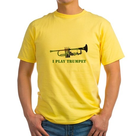 Camo Trumpet Yellow T-Shirt