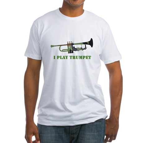 Camo Trumpet Fitted T-Shirt