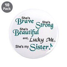 "Lucky Me 1 (Sister OC) 3.5"" Button (10 pack)"