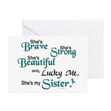 Lucky Me 1 (Sister OC) Greeting Cards (Pk of 10)