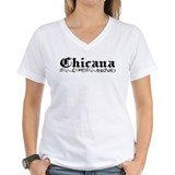 Chicana V-Neck T-Shirt