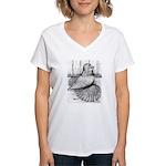 Ideal English Trumpeter Women's V-Neck T-Shirt