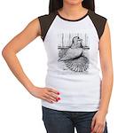 Ideal English Trumpeter Women's Cap Sleeve T-Shirt