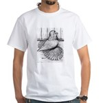 Ideal English Trumpeter White T-Shirt